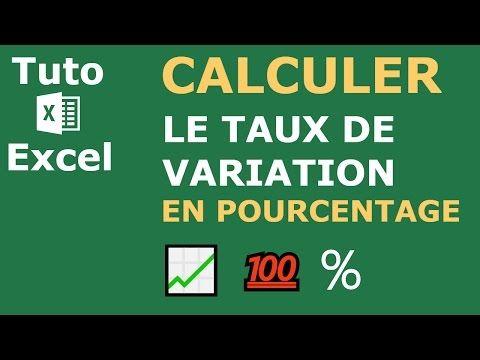Comment Calculer Le Pourcentage Daugmentation Ou De