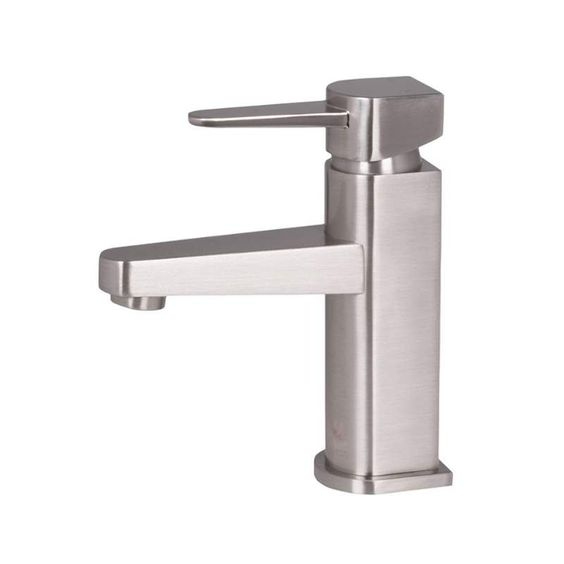 Bathroom Faucet Spout Reach vigo vg01030 single handle chrome bathroom faucet with 4-5/16