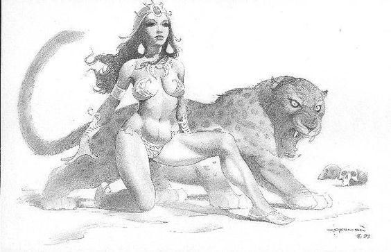 Mike Hoffman Dejah Thoris Comic Art