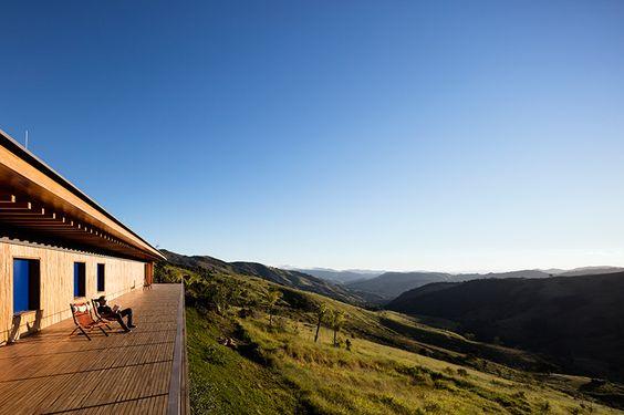 catuçaba farm by studio MK27 rests lightly on the landscape