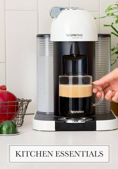 Once you experience a frothy morning cup of coffee, you'll know that this VertuoLine espresso maker from Nespresso is a kitchen essential.