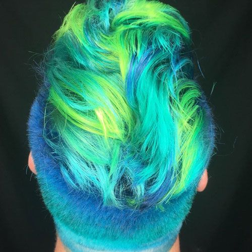 Merman Hair 21 Guys With Colored Hair And Dyed Beards 2020