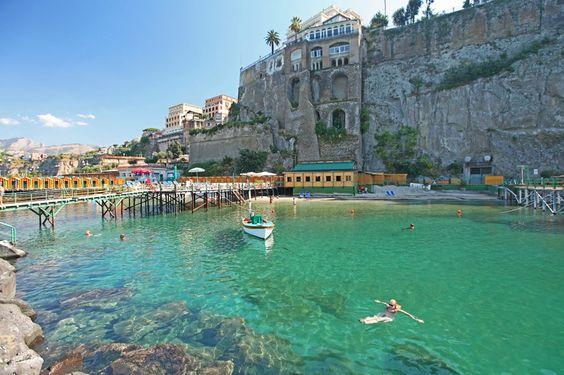 Swimming in Sorrento
