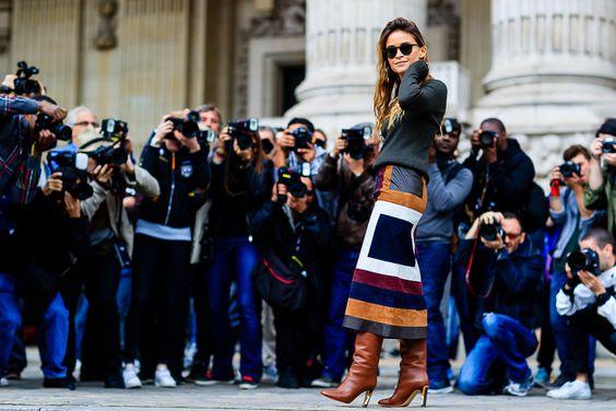 Fashion Week printemps-été 2017 : les plus beaux street looks repérés à Paris | Glamour