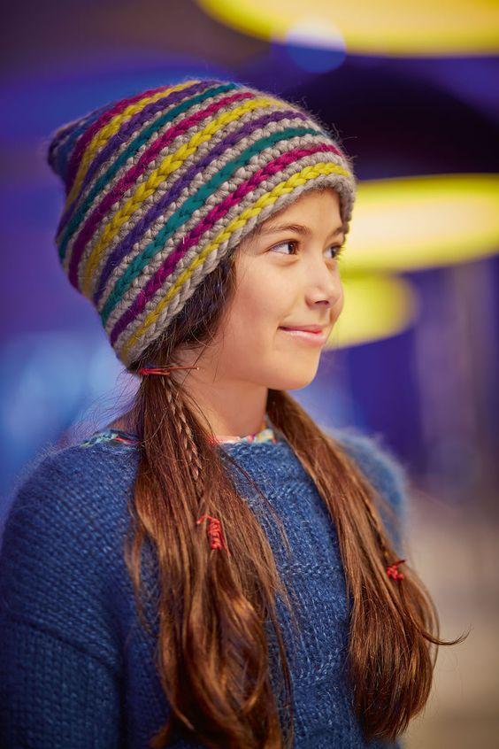 Lana Grossa WENDEMÜTZE Lei - FILATI Kids & Teens No. 4 - Modell 93 | FILATI.cc WebShop