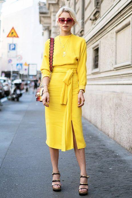 Платье миди: 45 стильных решений на любой случай жизни | Новости моды
