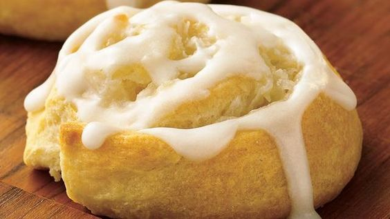 Obsessed with lemon! Lemon honey buns...    Recipe calls for crescent rolls... But I would use the crescent recipe sheets by Pillsbury instead.