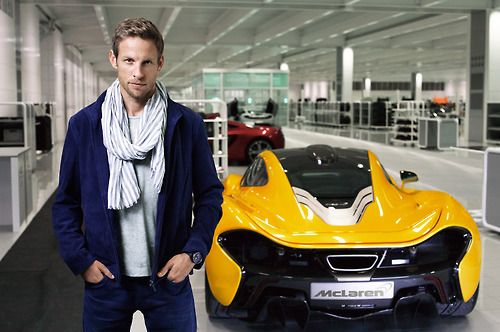 Jenson Button And The McLaren P1 At The 2013 Goodwood Festival Of Speed (VIDEO)