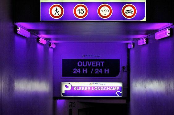 Colour is in abundance everywhere in Paris...