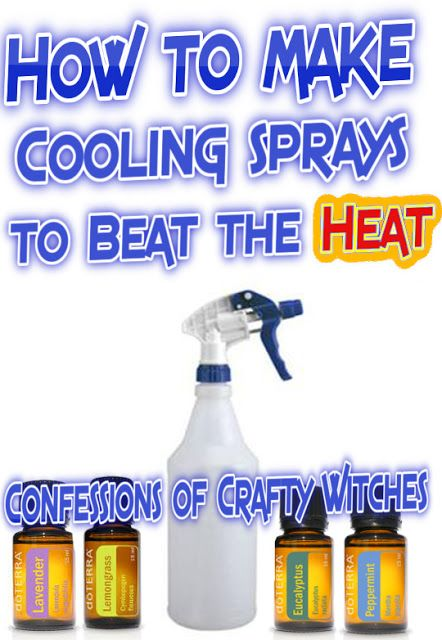 Herbal Health Care: How to make Cooling Sprays to Beat the Heat