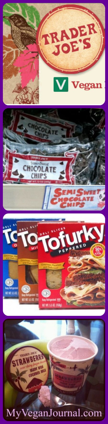 What's vegan at Trader Joe's? SO much!! Click through to see the long list! #MyVeganJournal