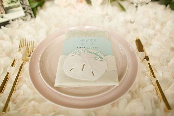 Dreamy seaside wedding  Setting the tone in blush, ivory, and gold by Set Maui  -Anna Kim Photography