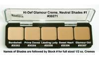- HD Samplers & Palettes - Hi Def Glamour Creme Palettes - HD Glamour Creme Palette, Neutral #1