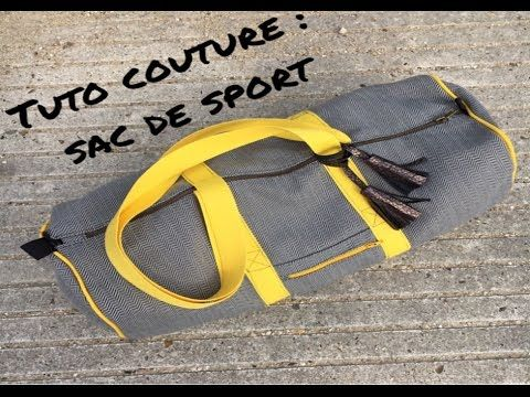 (197) Tuto : coudre son sac de sport - YouTube