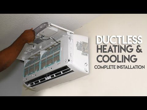 How To Install Ductless Ac Heating System True Diy Mini Split