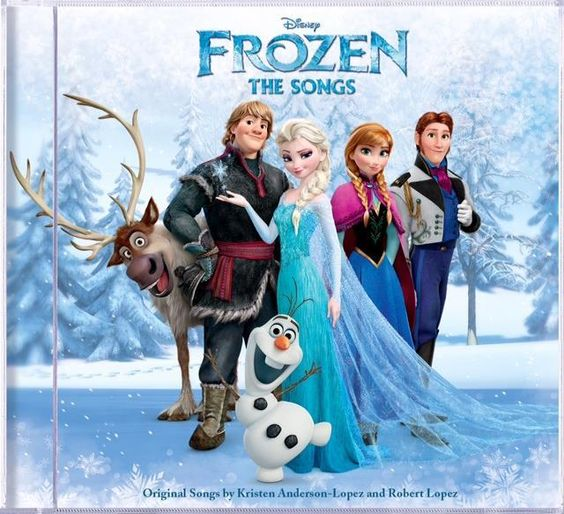 Disney's Frozen: The Songs CD Review + Giveaway #disneymusic #enmnetwork