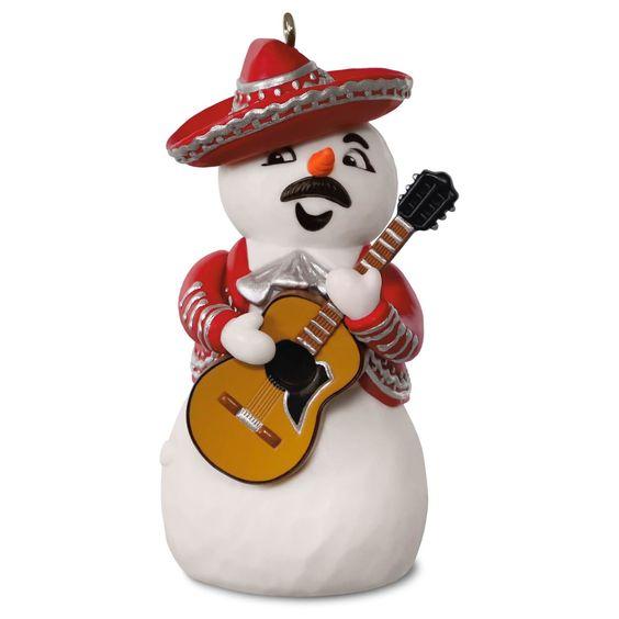 Feliz Navidad Musical Ornament