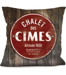 Coussin Chalet des Cimes