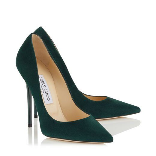 Anouk in 2019 | Jimmy choo shoes, Green shoes, Shoes