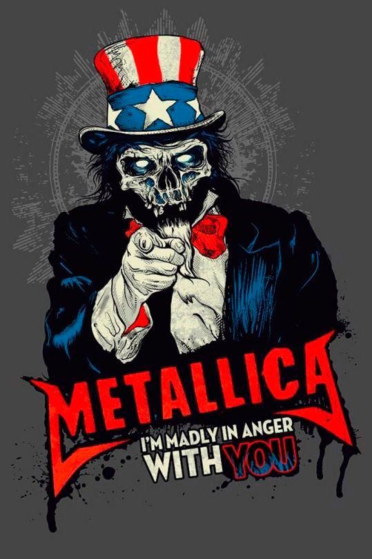 Imágenes de Heavy Metal para fondo de pantalla celular - Wallpapers para smartphones y pc para descargar Metallica