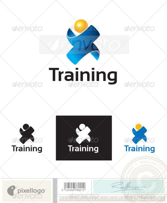 Training Logo - 2401  #GraphicRiver            An excellent logo template highly suitable for communication, technology, and science businesses.   Fully layered logo template. All colors and text can be modified. High resolution files included.   Check out the 3D version of this logo here!   Additional color and text modification services are offered by Pixellogo for an additional fee. Contact us and we'll be happy to help!   Custom Fonts used in this design can be downloaded from…
