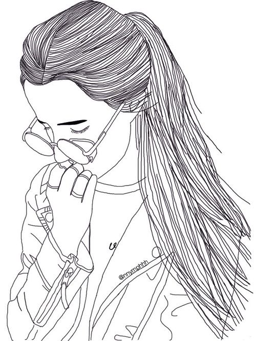 Line Art We Heart It : Pinterest burstvogue instagram dessin