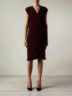 Airmail wrap dress - McMullen