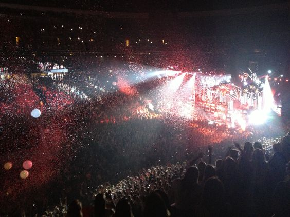 Sorry for a low quality pic but these are my pictures from when I went to the Denver Concert. WMYB. One Direction