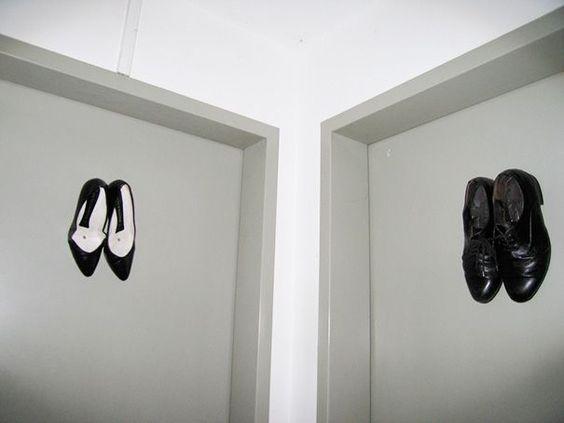 15 signaux homme/femme aux toilettes vraiment originaux - Il était une pub