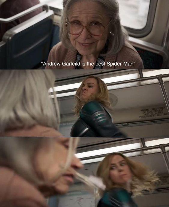 Captain Marvel Memes