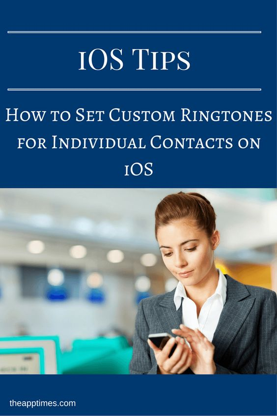 In this iOS tip, we show you how to set custom ringtones for individual contacts…