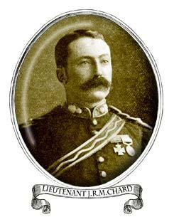 Lt. John Rouse Merriott Chard (Royal Engineers). Chard, officer left to command Rorke's Drift by Major Spalding. Died of cancer of the tongue 1st. November 1897 while living with his brother.