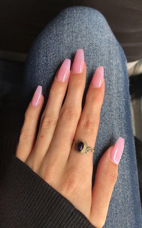 Over 50 Bright Summer Nail Art Designs That Will Be So Trendy All Season Ecemella Pink Acrylic Nails Pink Nails Nails