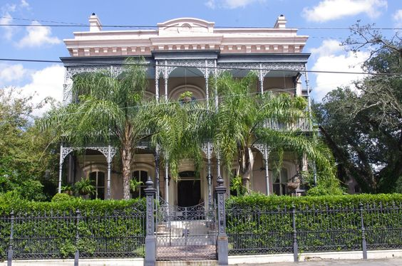 New orleans mansions for sale and gardens on pinterest Garden district new orleans