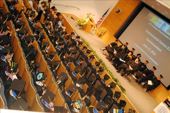 Close to 500 people attended the ceremony at Korn Convocation Hall.