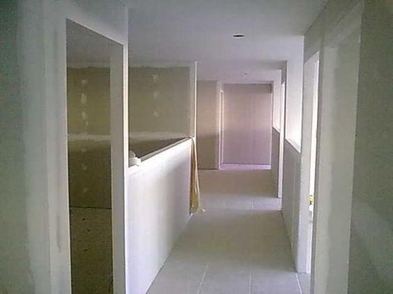 projeto venda e instalação de drywall com fina pintura.