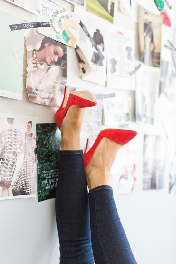 A few of my fave things, including Madewell's Mira heel in Bright Flame - worth every darn penny! Find more fall inspiration with me and #Vogue Magazine.....