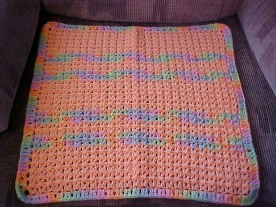 Free Crochet Patterns For Baby Pram Blankets : Hugs for Baby Blanket free crochet pattern Crochet Baby ...