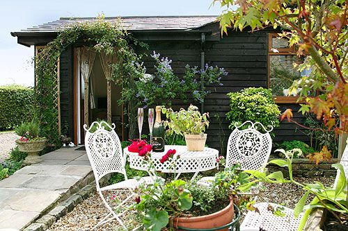 The Garden Cottage in summer, Holiday Cottage, Lancashire