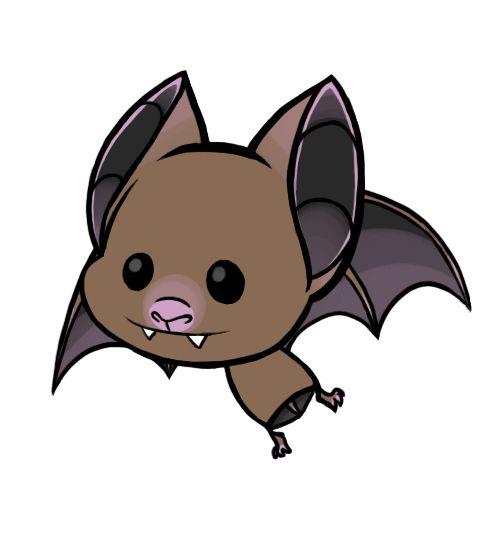Cute Little Cartoon Bat Cartoon Bat Cute Bat Animal Face Paintings