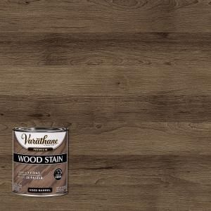 Ensure Supreme Shine And Fine Glow In Your Wooden Surfaces By Applying This Varathane Aged Barrel Semi T In 2020 Staining Wood Varathane Wood Stain Interior Wood Stain