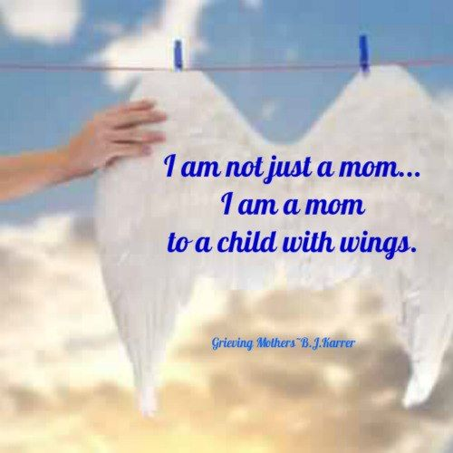 I am a mom to children with wings....Angela, Amanda and Baby K...I love you!!!: