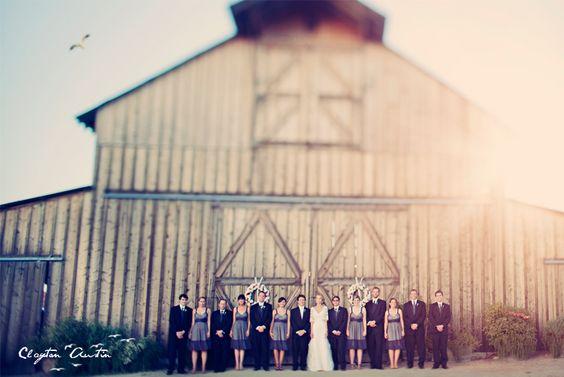 Group barn shot