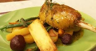 Resultado de imagem para pratos individuais frango coxa