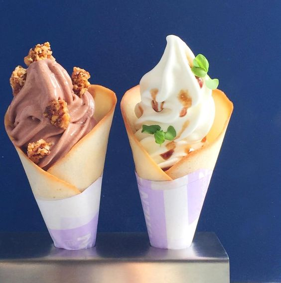 Would You Dare to Try Burrata Soft Serve Ice Cream?