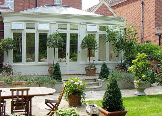 Conservatory orangery style