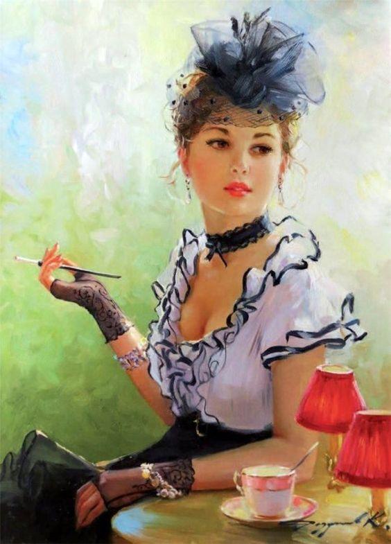 Artist Konstantin Razumov *.:。✿*゚゚・✿.。.:*