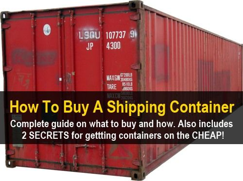 How To Buy A Shipping Container |  http://knowledgeweighsnothing.com/how-to-buy-a-shipping-container/