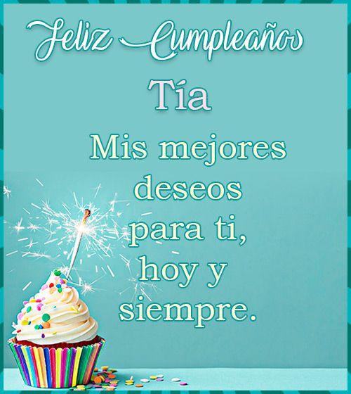 Feliz Cumpleaños Tía Feliz Cumpleaños Tia Feliz