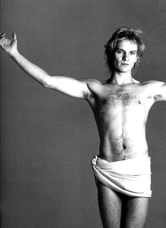 Francesco Scavullo: Sting, 1984